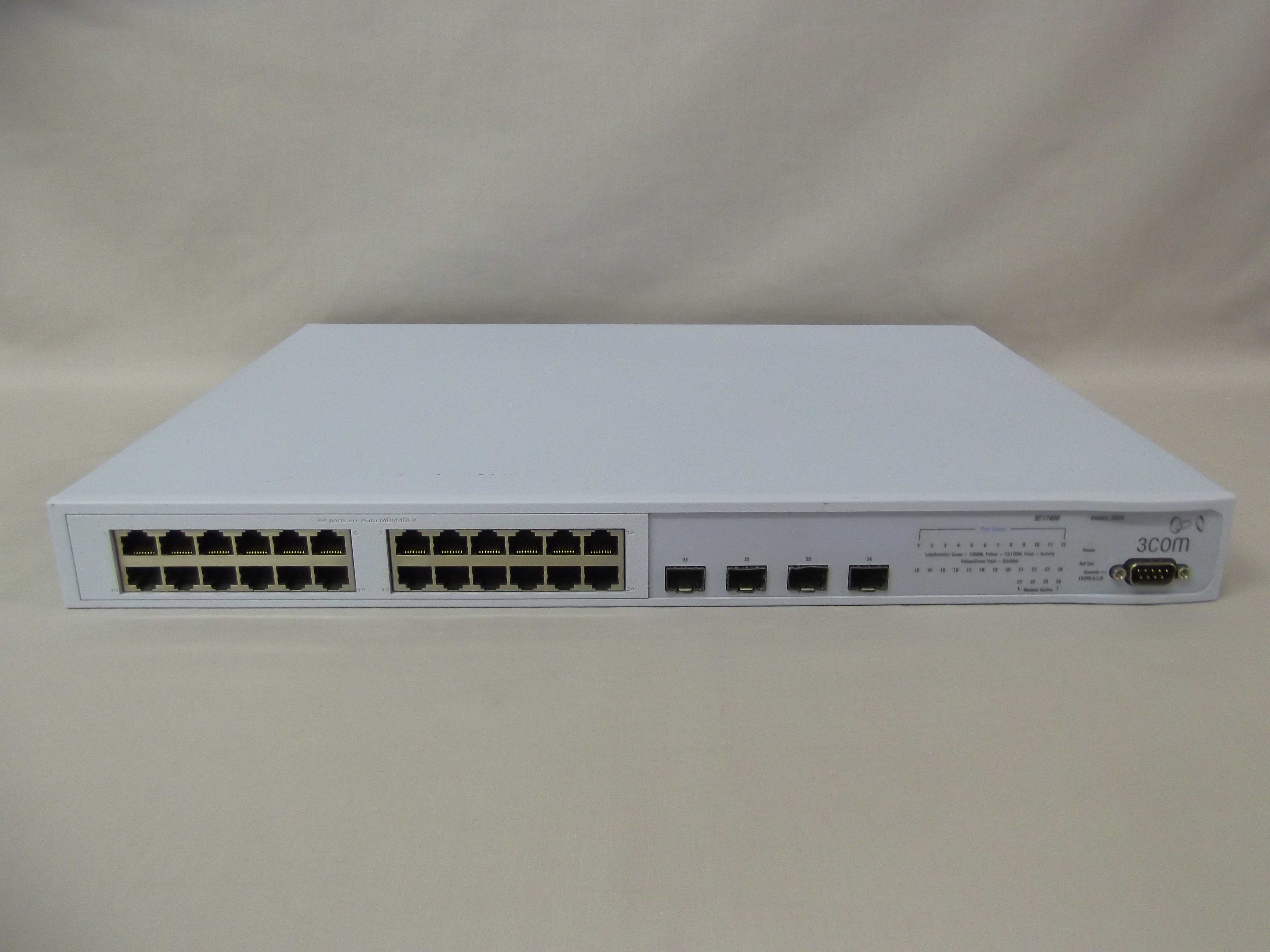 3c17400 je894a 3com superstack 3 switch 3824 it for 3 com switch