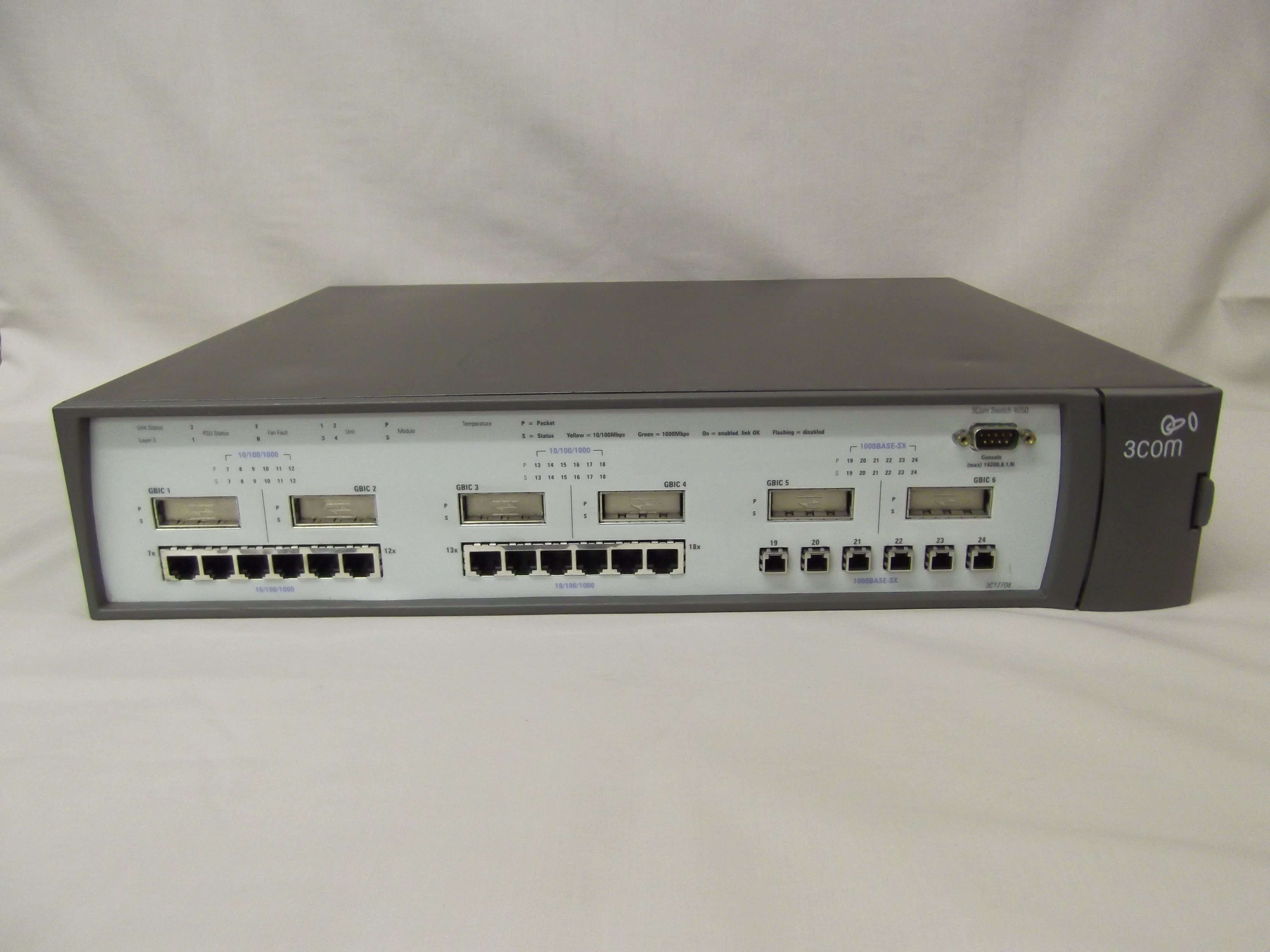 3c17708 je921a 3com superstack 3 switch 4050 it for 3 com switch
