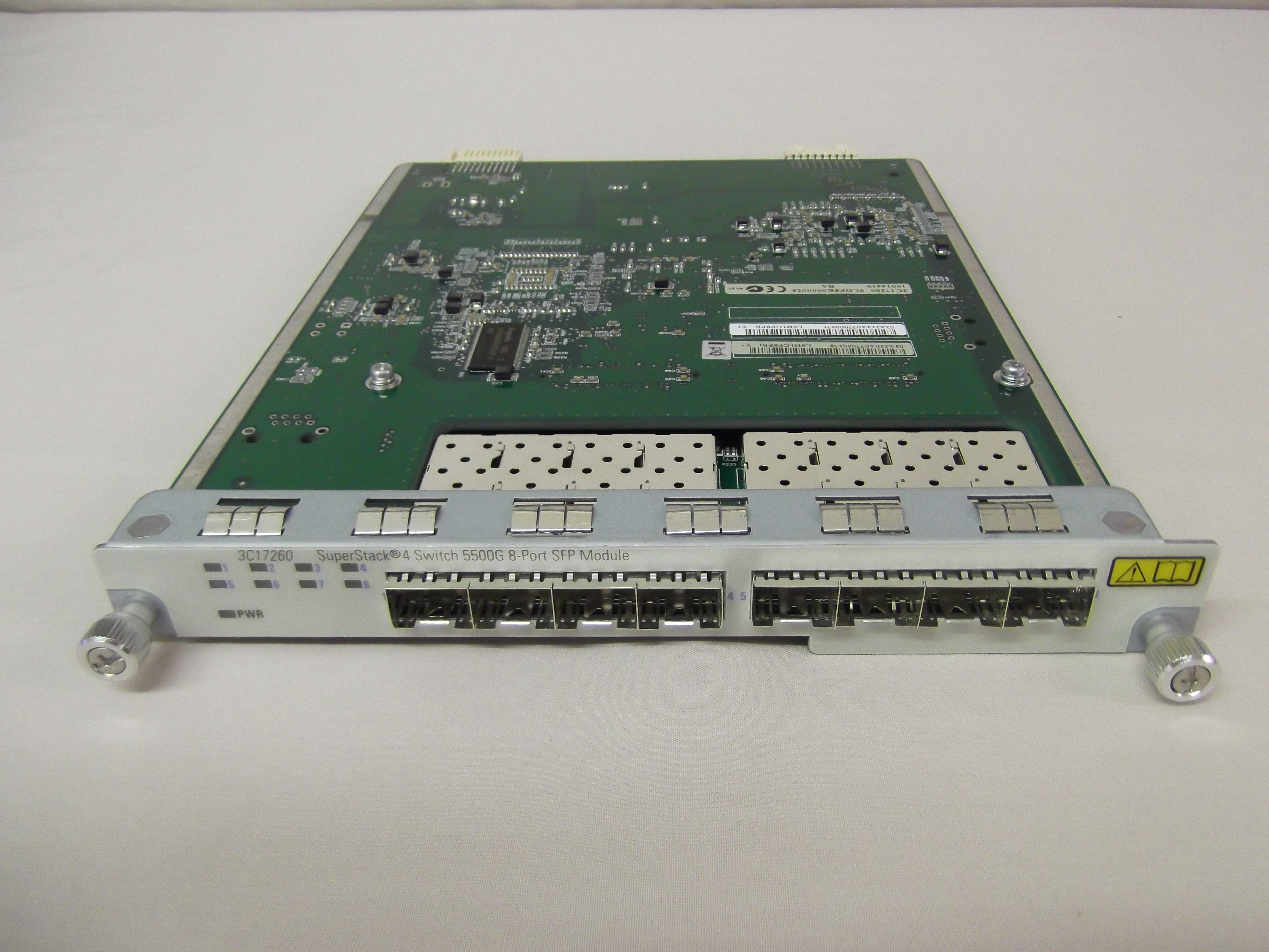 3Com 3C17260 HP JE075A 5500G-EI 8-PORT 1000BASE-X SFP Module