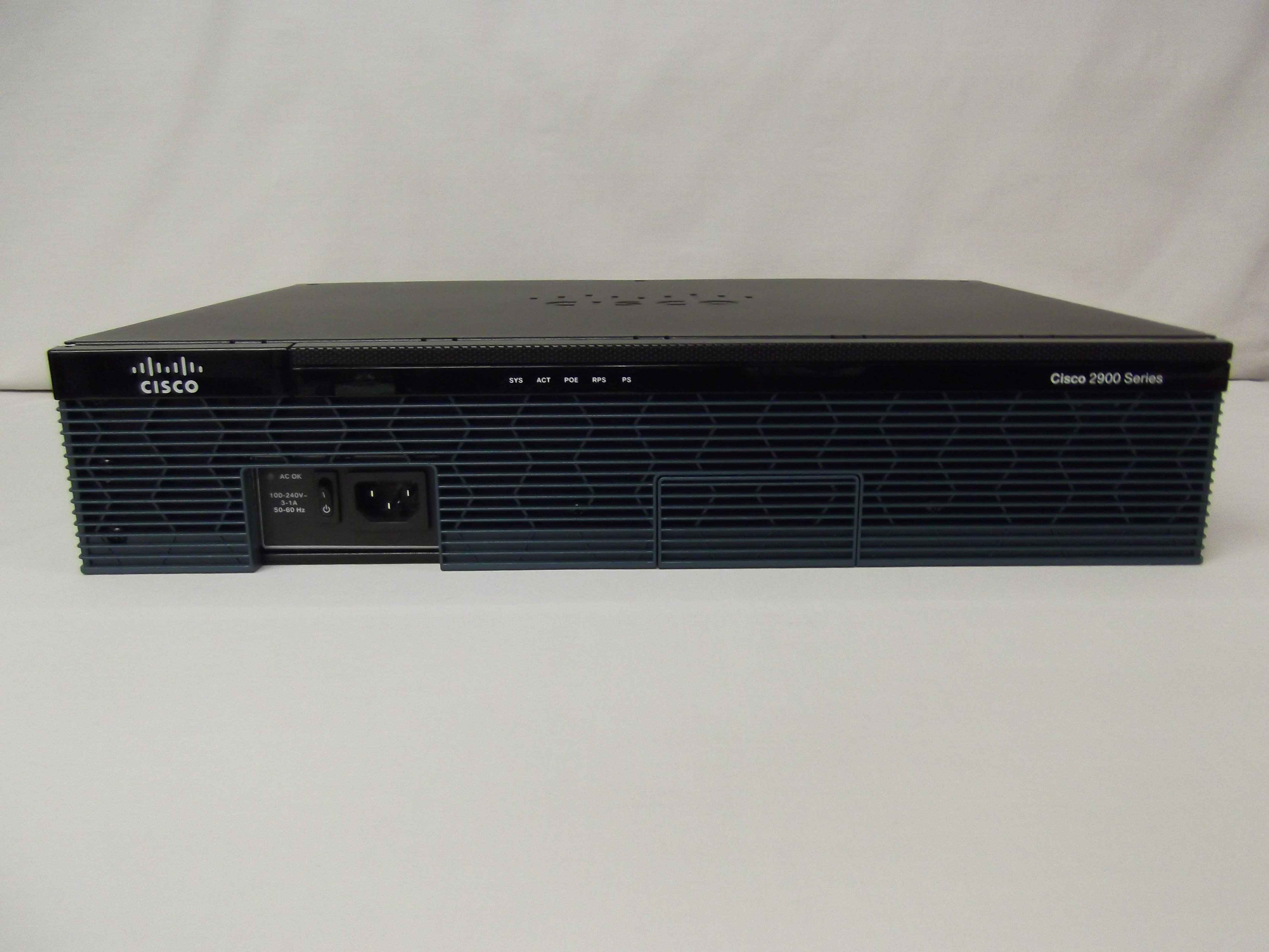 Cisco2911/K9 Cisco 2911 Integrated Services Router 3x GE ...