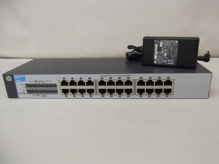 Hp J9663a Hp 1410 24 24 Port 10 100 Fast Ethernet Switch It Revival Ltd It Revival Ltd